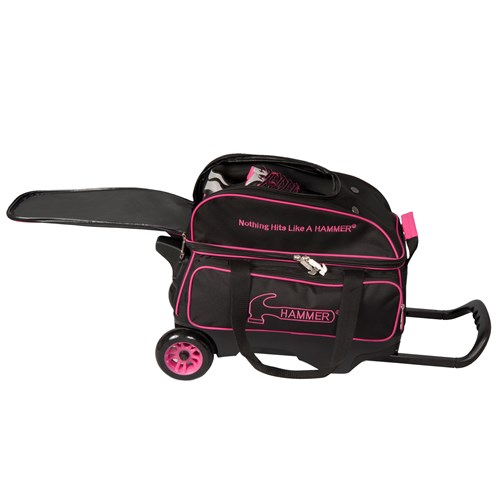 Hammer Signature Double Roller Black/Magenta Core Image