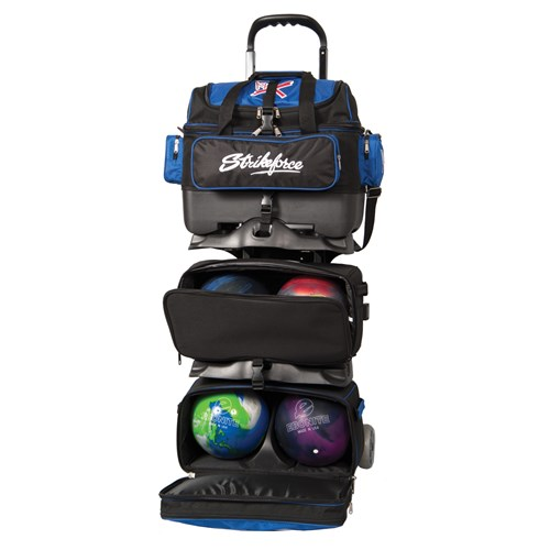 KR Strikeforce Royal Flush 6-Ball Roller Black/Royal Core Image