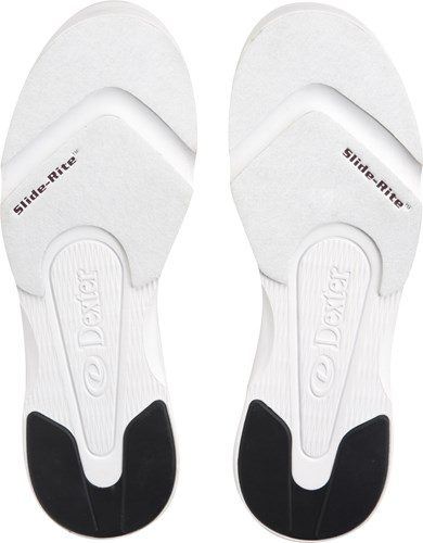 Dexter Mens Ricky IV White/Black Wide Width Core Image