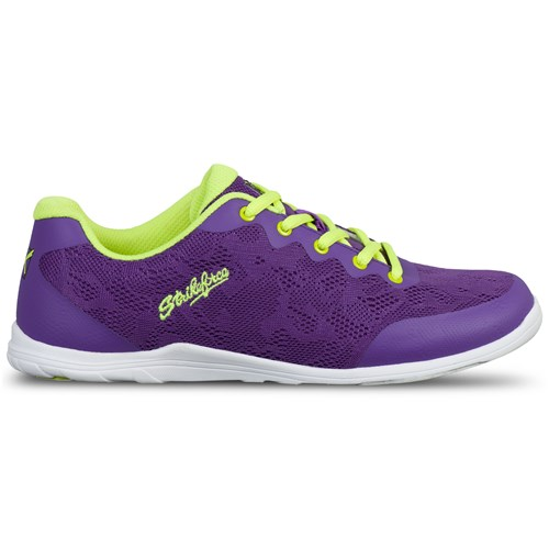 KR Strikeforce Womens Lace Purple/Yellow Core Image
