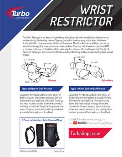 Turbo Wrist Restrictor Core Image