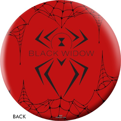 OnTheBallBowling Black Widow Red Core Image