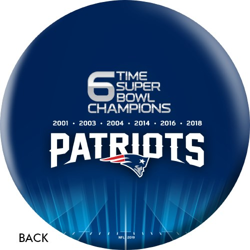 OnTheBallBowling 2019 Super Bowl 53 Champions New England Patriots Ball Core Image