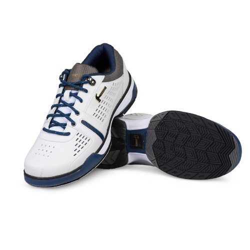 Hammer Mens Boss White/Navy/Grey Right or Left Hand Wide Core Image