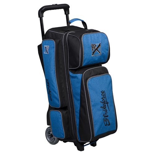 KR Strikeforce Krush Triple Roller Blue/Black Core Image