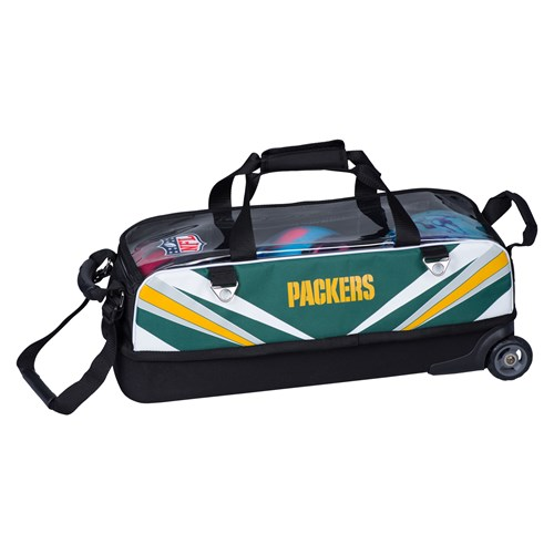 KR Strikeforce NFL Slim Triple Roller Green Bay Packers Core Image