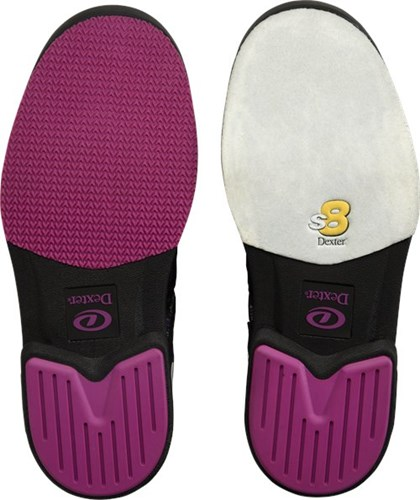 Dexter Womens DexLite Pro BOA Black/Purple Right Hand Core Image
