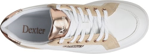 Dexter Womens Groove IV White/Rose Gold Core Image