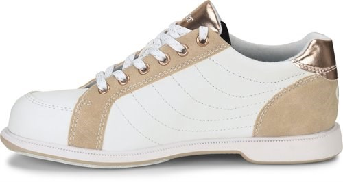 Dexter Womens Groove IV White/Rose Gold Wide Core Image