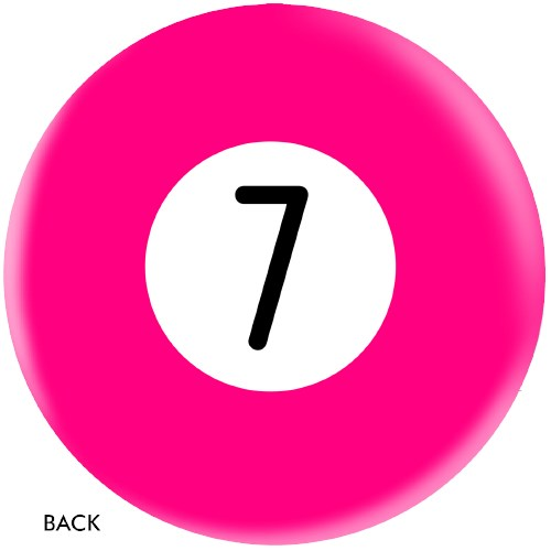 OnTheBallBowling Billiard Pink 7 Ball Core Image
