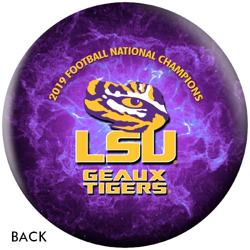 OnTheBallBowling 2019 NCAA National Champions LSU Tigers Ball Core Image