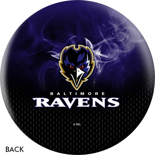 KR Strikeforce NFL on Fire Baltimore Ravens Ball Core Image