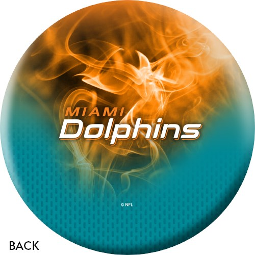 KR Strikeforce NFL on Fire Miami Dolphins Ball Core Image