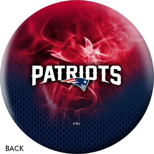 KR Strikeforce NFL on Fire New England Patriots Ball Core Image