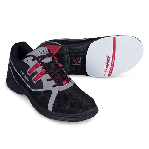 KR Strikeforce Mens Ignite Black/Grey/Red Right Hand Wide Width Core Image