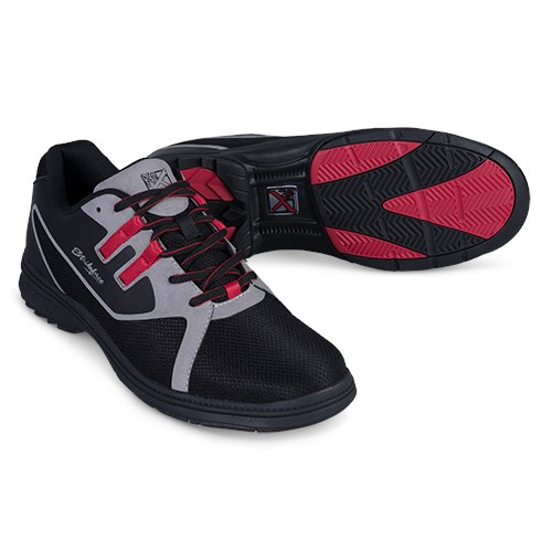 KR Strikeforce Mens Ignite Black/Grey/Red Left Hand Core Image