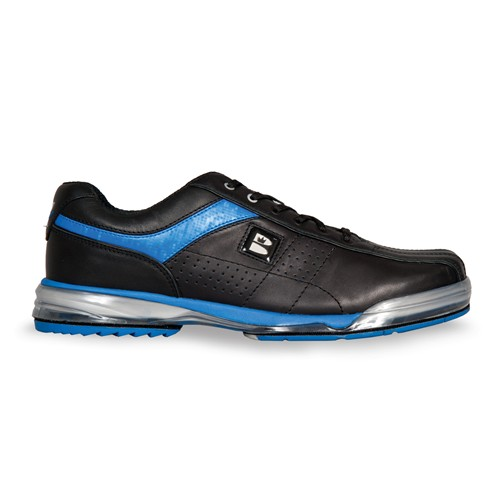 Brunswick Mens TPU X Black/Royal Right Hand Wide Core Image