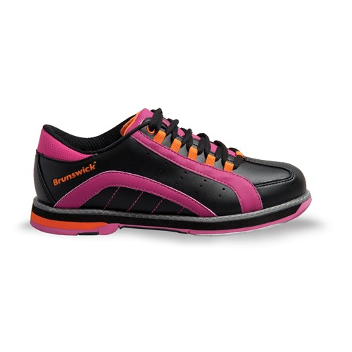 Brunswick Womens Raven Black/Pink/Orange Core Image