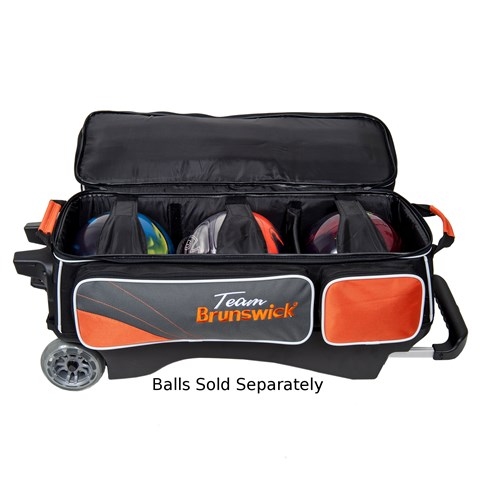 Brunswick Team Brunswick Triple Roller Slate/Orange Core Image