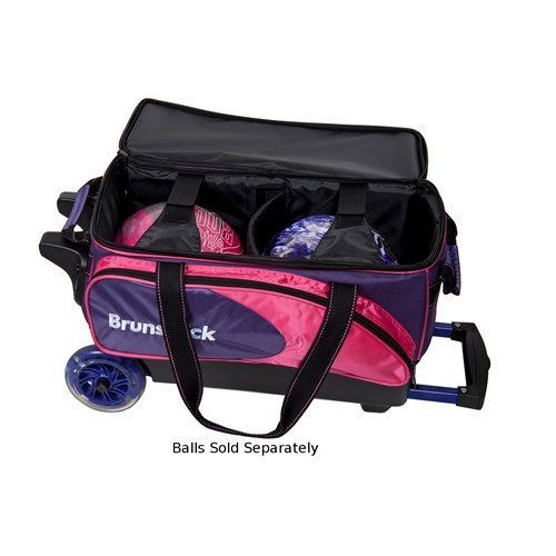 Brunswick Flash C Double Roller Purple/Pink Core Image