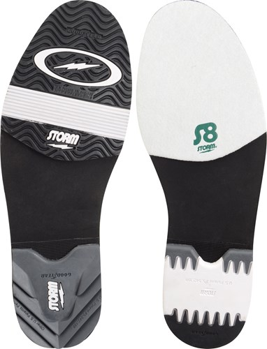 Storm Mens SP2 901 White/Black/Silver RH or LH Core Image
