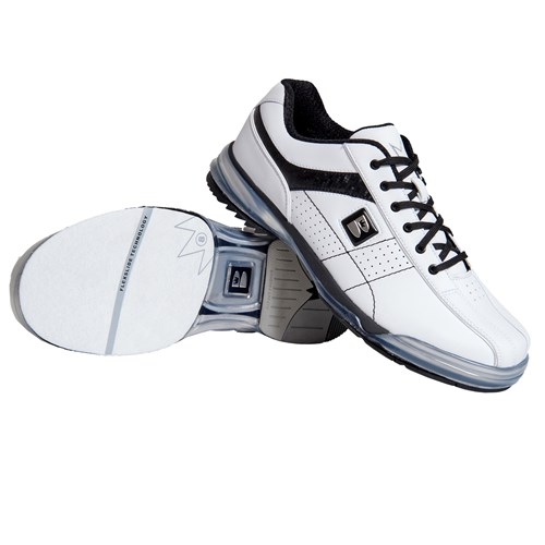 Brunswick Mens TPU X LE White/Black Right Hand Core Image