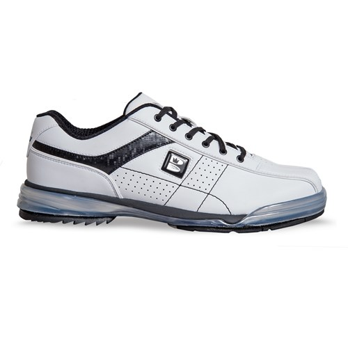 Brunswick Mens TPU X LE White/Black Right Hand Wide Core Image
