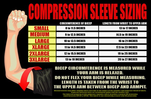 Roto Grip Mens Compression Sleeve Grunge Core Image
