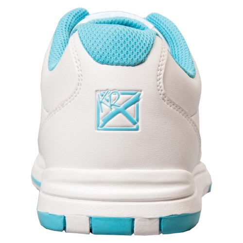 KR Strikeforce Womens Satin White/Aqua Core Image