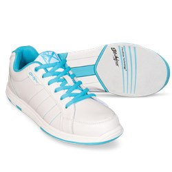 KR Strikeforce Womens Capri Lite White/Blue Core Image