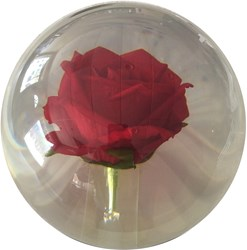KR Clear Red Rose Ball Core Image