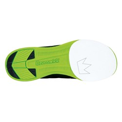 Brunswick Mens Fuze Black/Neon Green Core Image