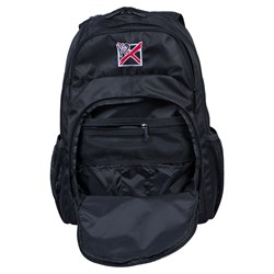 KR Strikeforce Fast Backpack Black/White Core Image