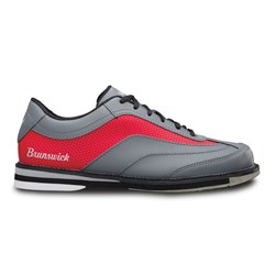 Brunswick Mens Rampage Grey/Red Right Hand Core Image