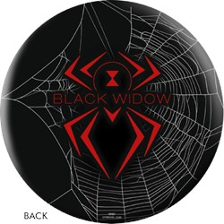 OnTheBallBowling Black Widow Black Core Image