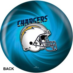 KR Strikeforce Los Angeles Chargers NFL Ball Core Image