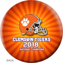 OnTheBallBowling 2018 NCAA National Champions Clemson Tigers Ball Core Image