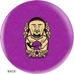 OnTheBallBowling The Big Lebowski Purple Jesus Ball Core Image