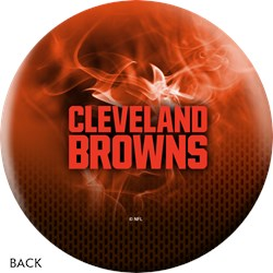 KR Strikeforce NFL on Fire Cleveland Browns Ball Core Image