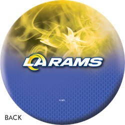 KR Strikeforce NFL on Fire Los Angeles Rams Ball Core Image