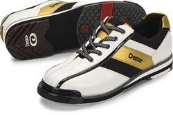 Dexter Mens SST 8 Pro White/Black/Gold Right Hand or Left Hand Core Image