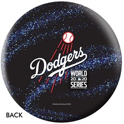 OnTheBallBowling MLB Los Angeles Dodgers 2020 World Series Champs Galaxy Ball Core Image