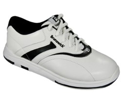 Brunswick Womens Silk White/Black Core Image