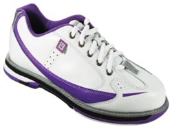 Brunswick Womens Curve White/Purple Core Image