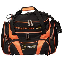 Hammer Deluxe Double Tote Black/Orange Core Image
