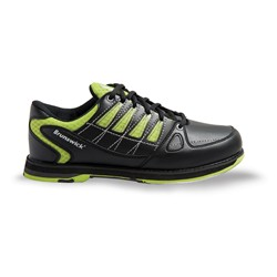 Brunswick Mens Arrow Black/Lime Core Image