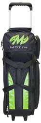 Motiv Deluxe Triple Roller Black/Green Core Image
