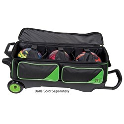 KR Lane Rover 3 Ball Roller (LR3) Black/Lime Core Image