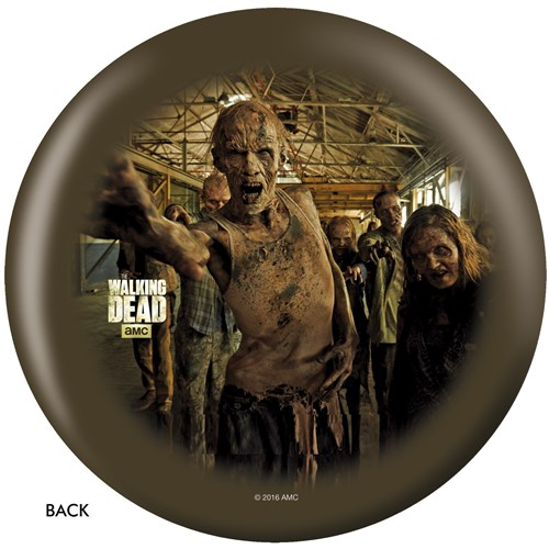OnTheBallBowling The Walking Dead Zombie Circle Back Image
