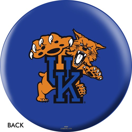 OnTheBallBowling University of Kentucky Wildcats Back Image